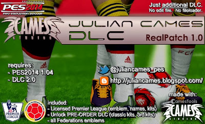 PES 2014 Julian Cames DLC - [Real Patch 1.0]