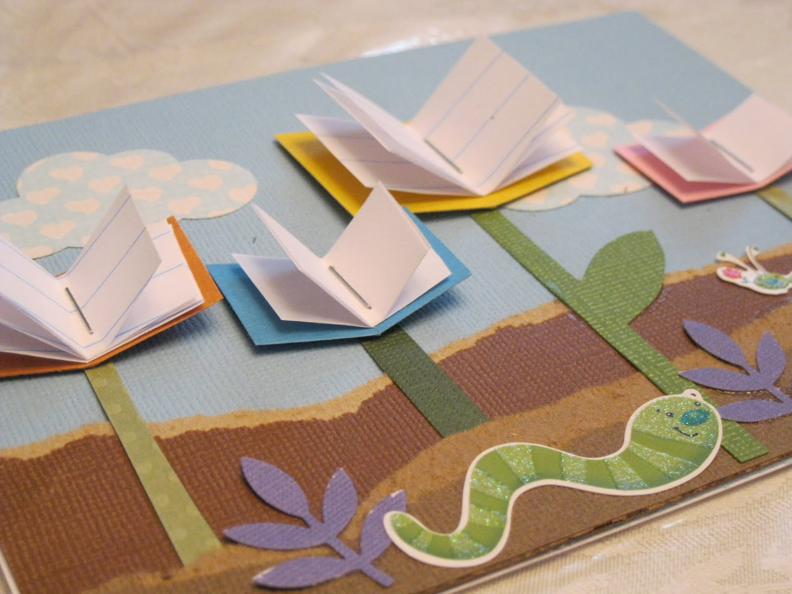 Whimsical Ways Library Thank You Card
