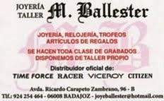 JOYERIA BALLESTER