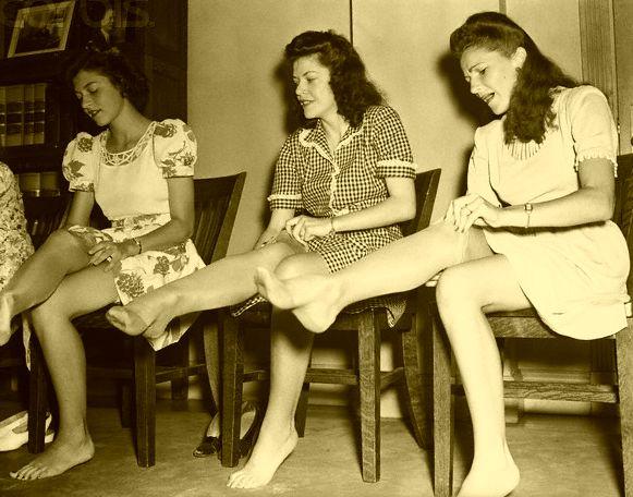 Wallace Carothers, nylon, nylon stockings--OH MY!