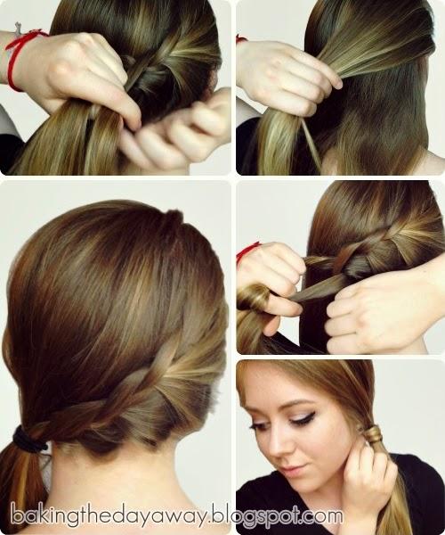 Cara Ikat Rambut Panjang Yang Simple | hairstylegalleries.com