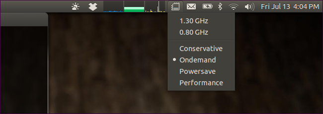 CPU Frequency Indicator