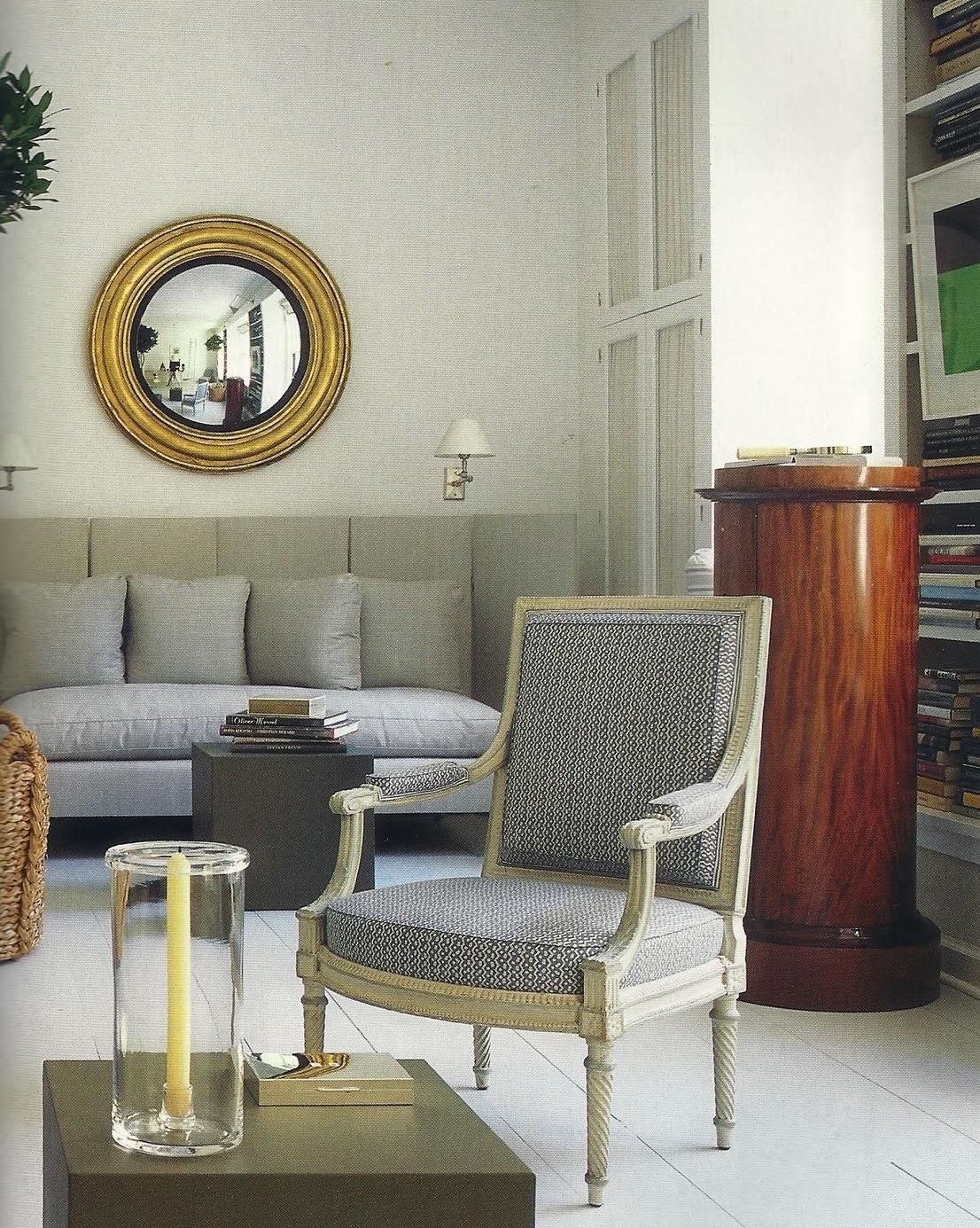 Convex Mirror, Federalist Convex Mirror, Bruce Budd Home Decor With Convex  Mirror Via Belle