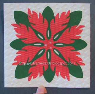 hawaiian quilt Christmas card