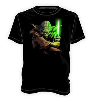Koszulka z Mistrzem Yodą
