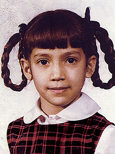 baby pictures of famous people jennifer lopez
