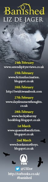 Banished Blog Tour 2014