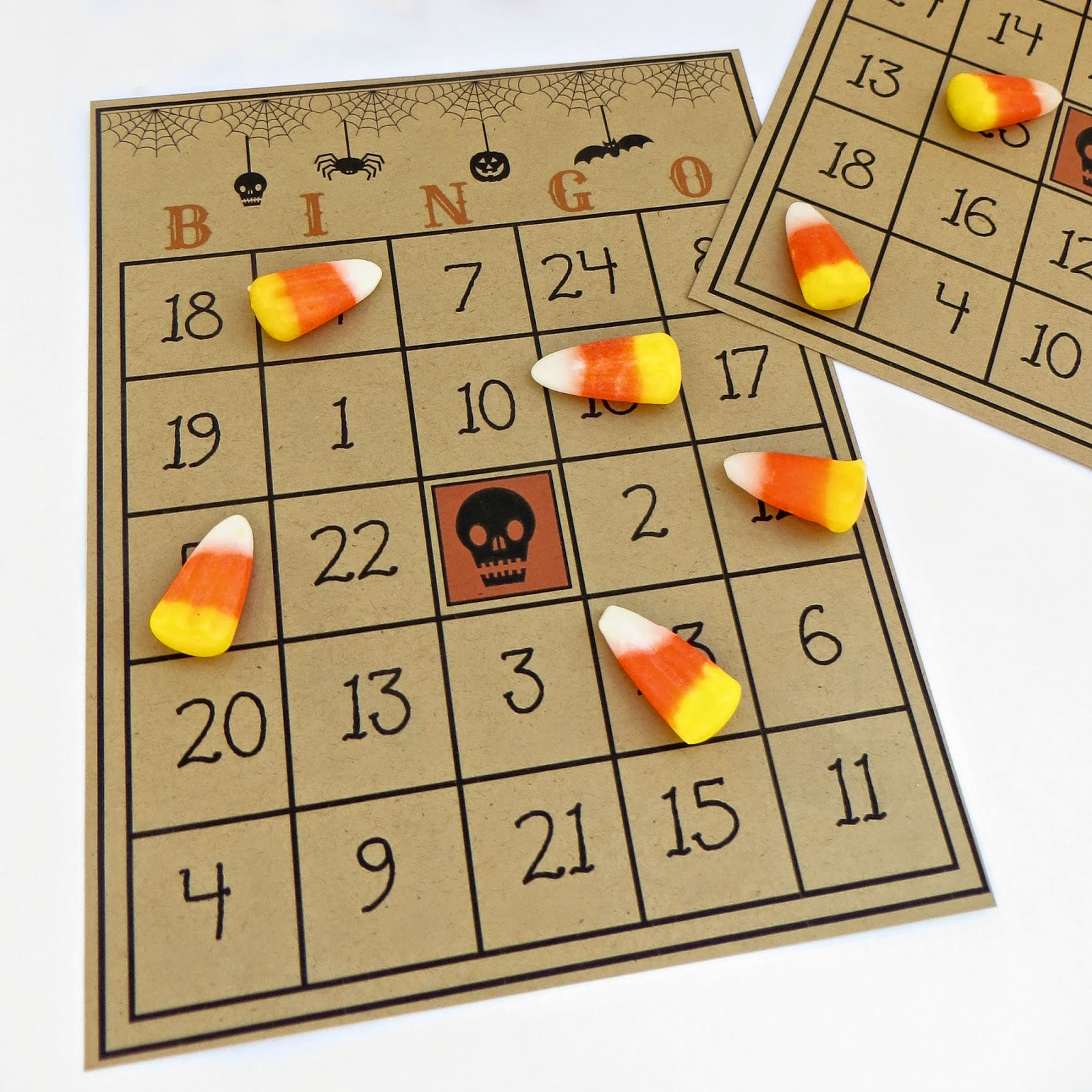 It's just a graphic of Ridiculous 25 Printable Halloween Bingo Cards