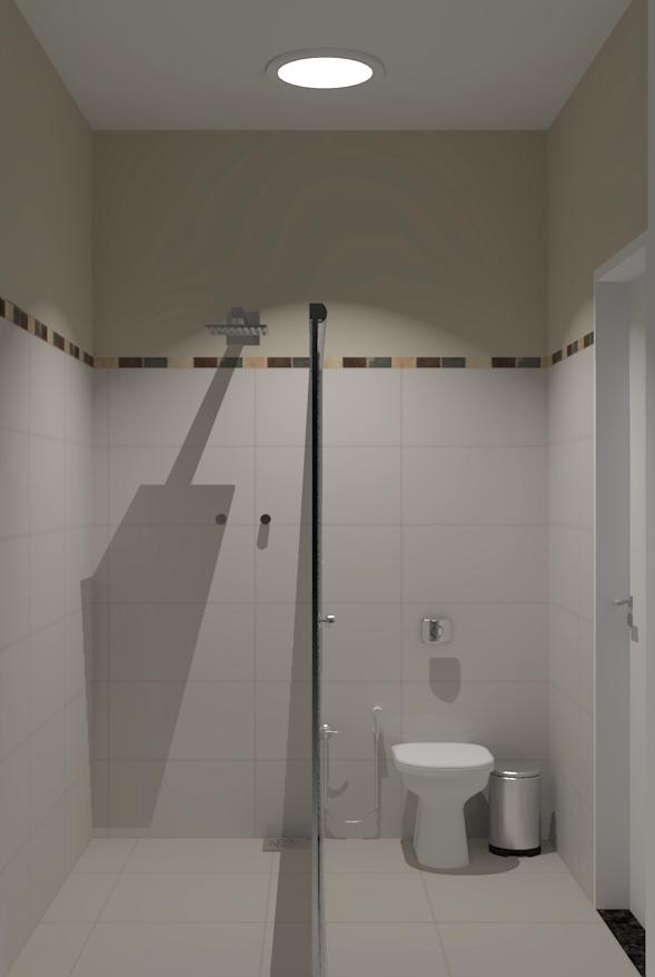 LILIAN CARVALHO Banheiro da Área de Lazer -> Banheiro Simples Para Area De Lazer