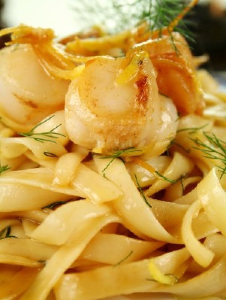 Seafood Pasta in Lemon Butter Sauce | Cook'n is Fun - Food Recipes ...