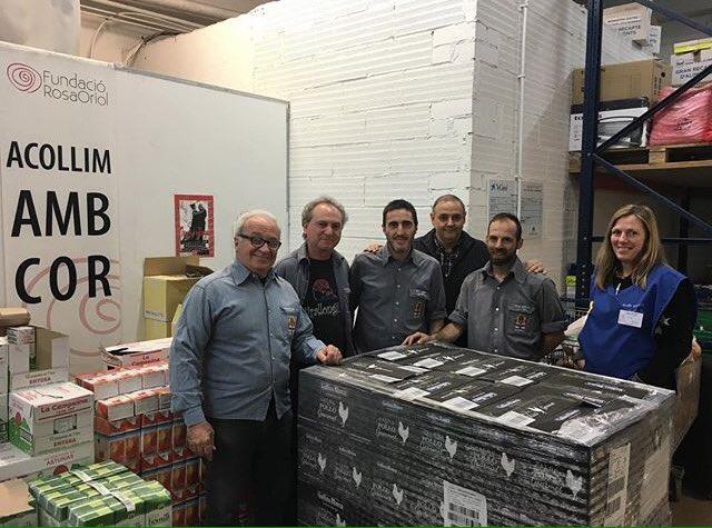 Premi Solidari Gallina Blanca BC2017 Tirallongues de Manresa a la Fundació Rosa Oriol