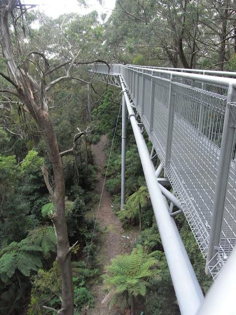 Elevated walkway
