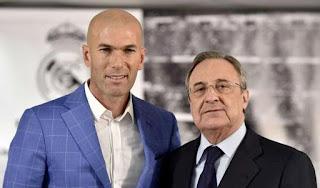 """""""Zidane es, sin ninguna duda, una de las figuras más grandes de la historia del fútbol"""", afirmó Florentino Pérez."""
