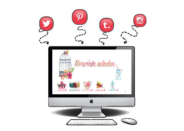 Blogger'a sosyal medya ikonu eklemek