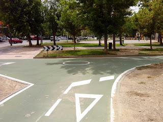 rotonta carril bici Zaragoza