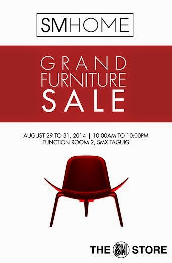 Manila shopper sm home grand furniture sale at smx aura aug 2014 Sm home furniture in philippines