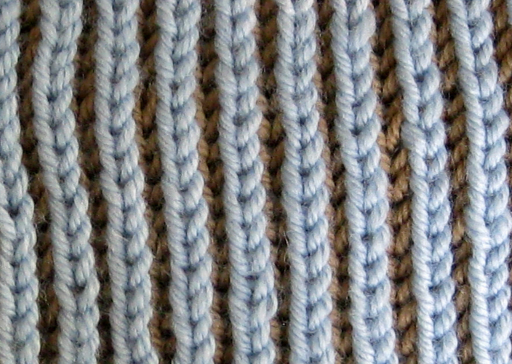 Brioche Knitting Tutorial : Two color brioche stitch pattern images
