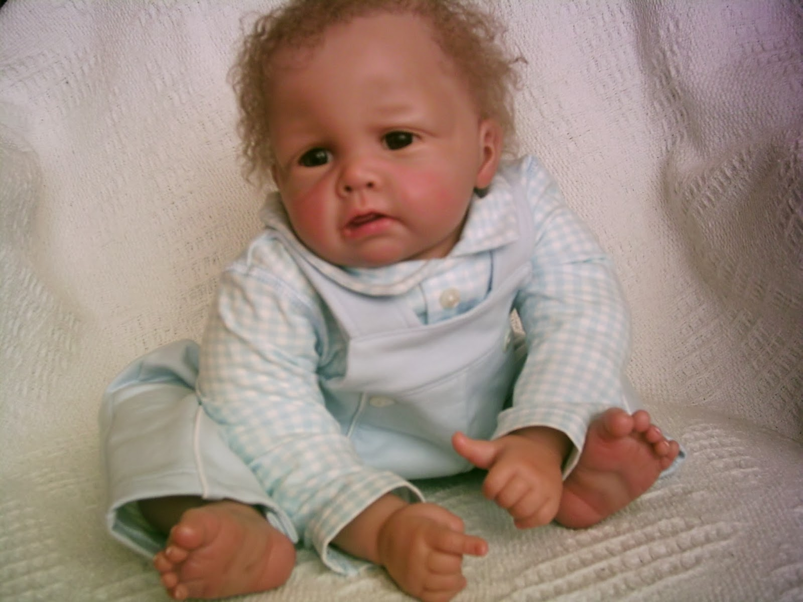 William reborn from Elly Knoop doll kit Photo