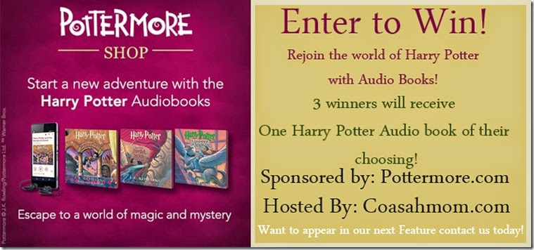 #HearHarryPotter AudioBook Giveaway