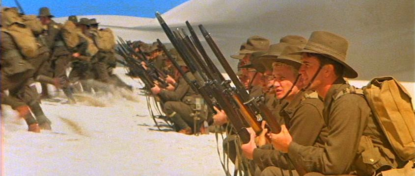an analysis of the movie gallipoli Gallipoli is actually two movies: a buddy movie that takes place in australia during the early months of wwi, and the gallipoli offensive.
