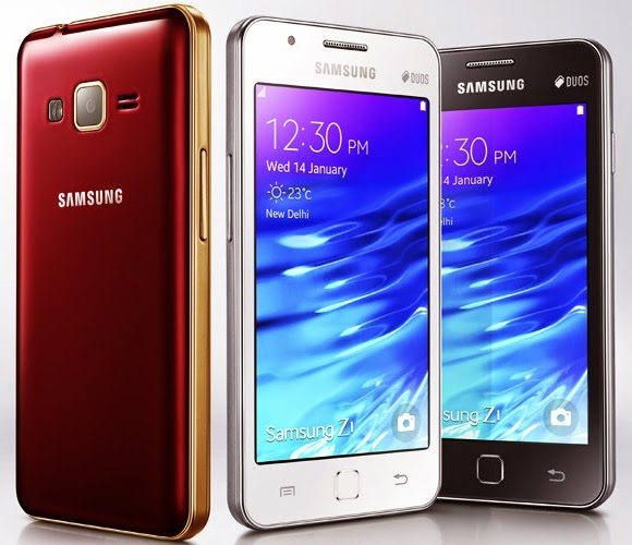 Samsung Z1 Tizen OS Phone Launched for 5700 $92 price and full specification