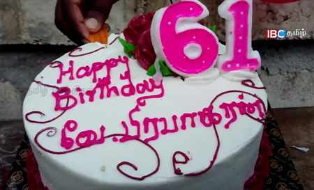 Jaffna students celebrate LTTE leader Prabhakaran's birthday