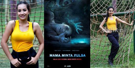 Filem Mama Minta Pulsa Indonesia menampilkan pelakon-pelakon seksi ...