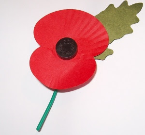 POPPY, ARMISTICE DAY