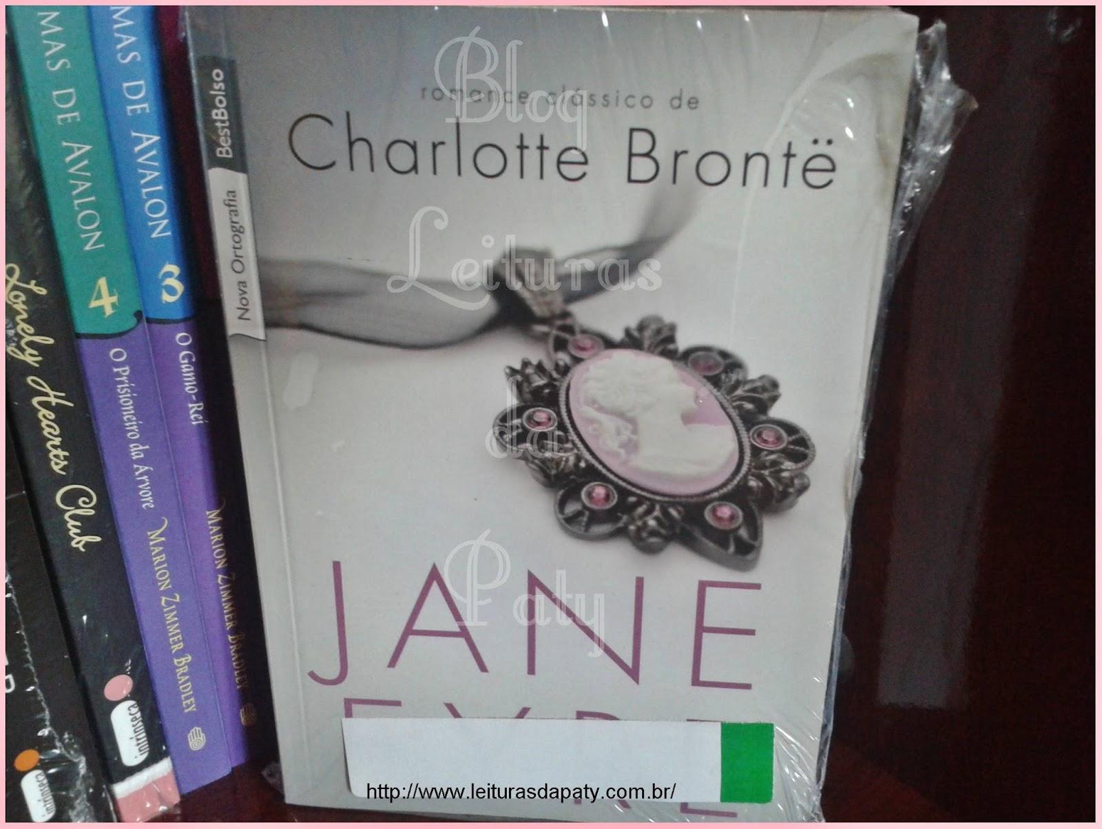 Livro Jane Eyre - Blog Leituras da Paty