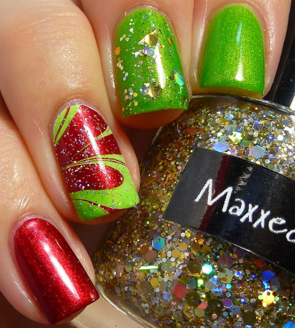 Cult Nails Deal With It, a-england Perceval, CrowsToes Maxxed Out, Chi Chi Disco Diva