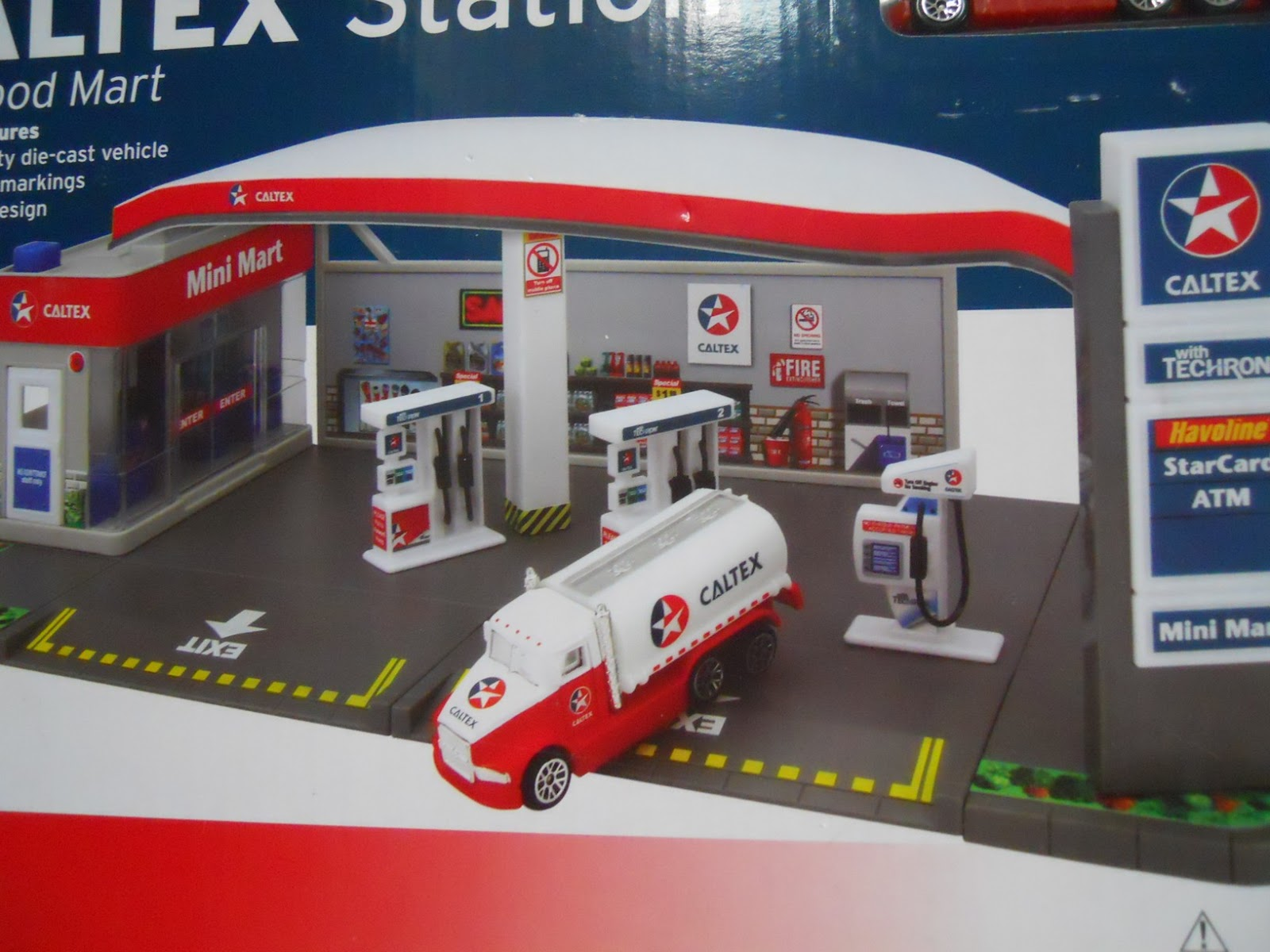 Dexters Diecasts (DexDC): DARON ~ CALTEX STATION AND FOOD ...