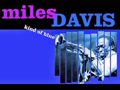 album cover for jazz trumpetist miles davis kind of blue
