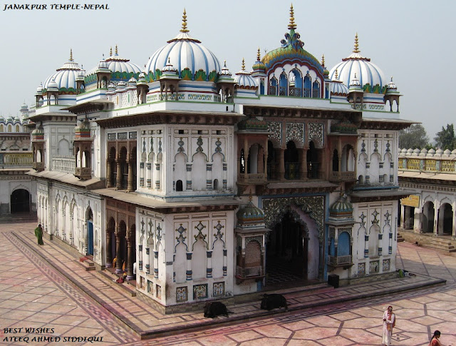 நேபாளம்-அழகான படங்கள்.... Nepal+-+Temple+in+Janakpur