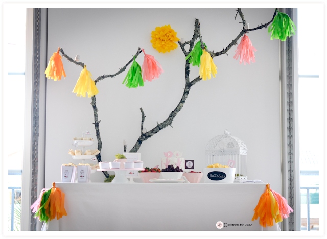 Bird party featured on Kara's Party Ideas from BistrotChic
