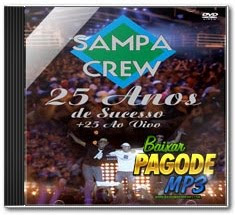 CD Sampa Crew   25 Anos Ao Vivo (2012)