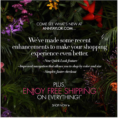 Click to view this June 22, 2011 Ann Taylor email full-sized