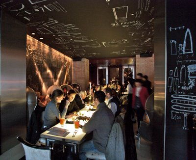 Living in madrid adolfo dominguez shop coffee lounge for Oficinas adolfo dominguez madrid
