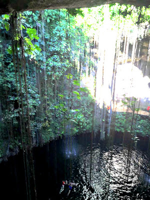 Cenote nope.