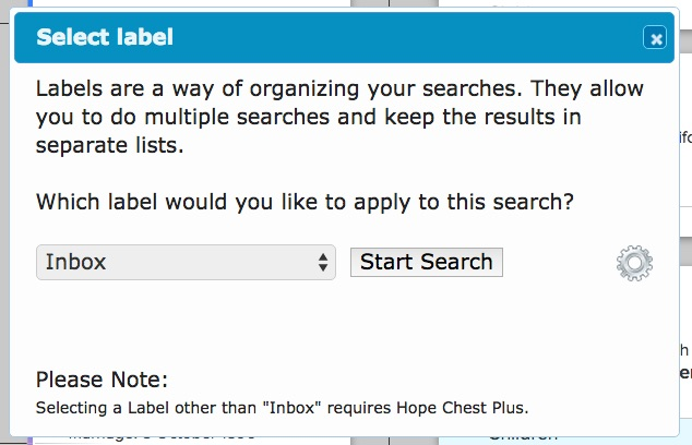 how to use hope chest on familysearch