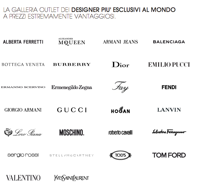 outlet the mall, the mall, outlet, outlet prada, outlet gucci, sconti, borse gucci outlet