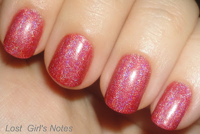OPI DS couture swatches and review