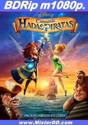 Campanilla, hadas y piratas (2014) [BDRip m1080p.]