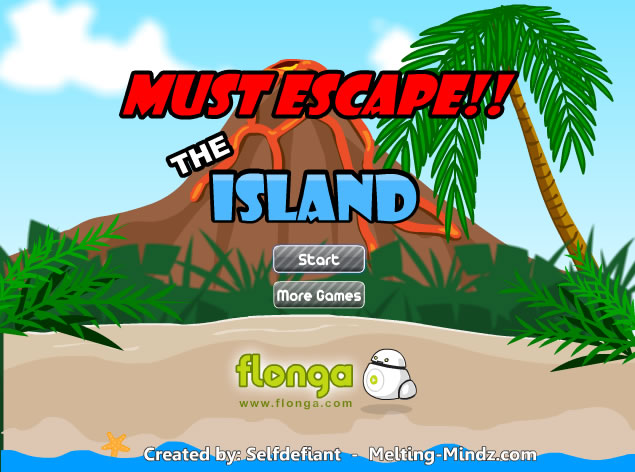 Unblocked Game : Must Escape The Island