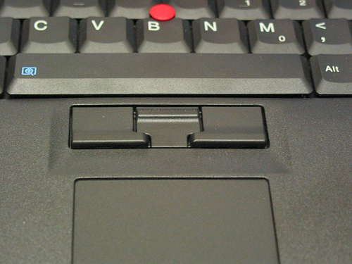 The amazing TrackPoint technology (src: www.thinkpads.com/2009/06/11/i-love-trackpoints)