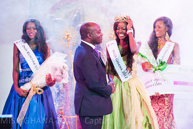 Miss Ghana 2012 winner Carranzer Naa Okaikey Shooter