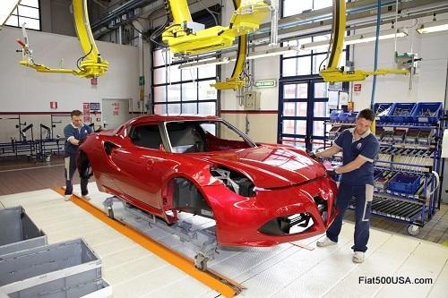Alfa Romeo 4C body