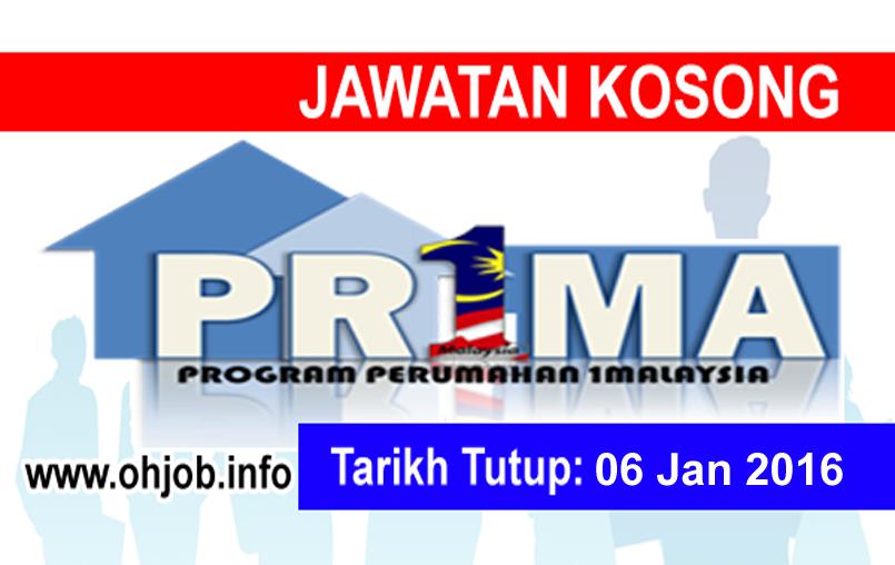 Jawatan Kerja Kosong Perbadanan Pr1ma Malaysia logo www.ohjob.info januari 2016