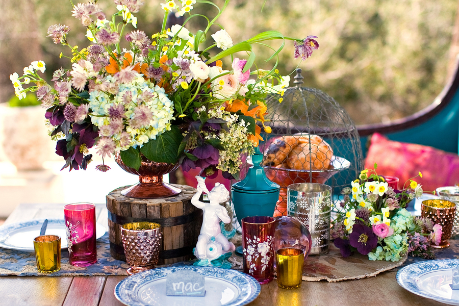 Bohemian Chic Wedding Ideas Decor