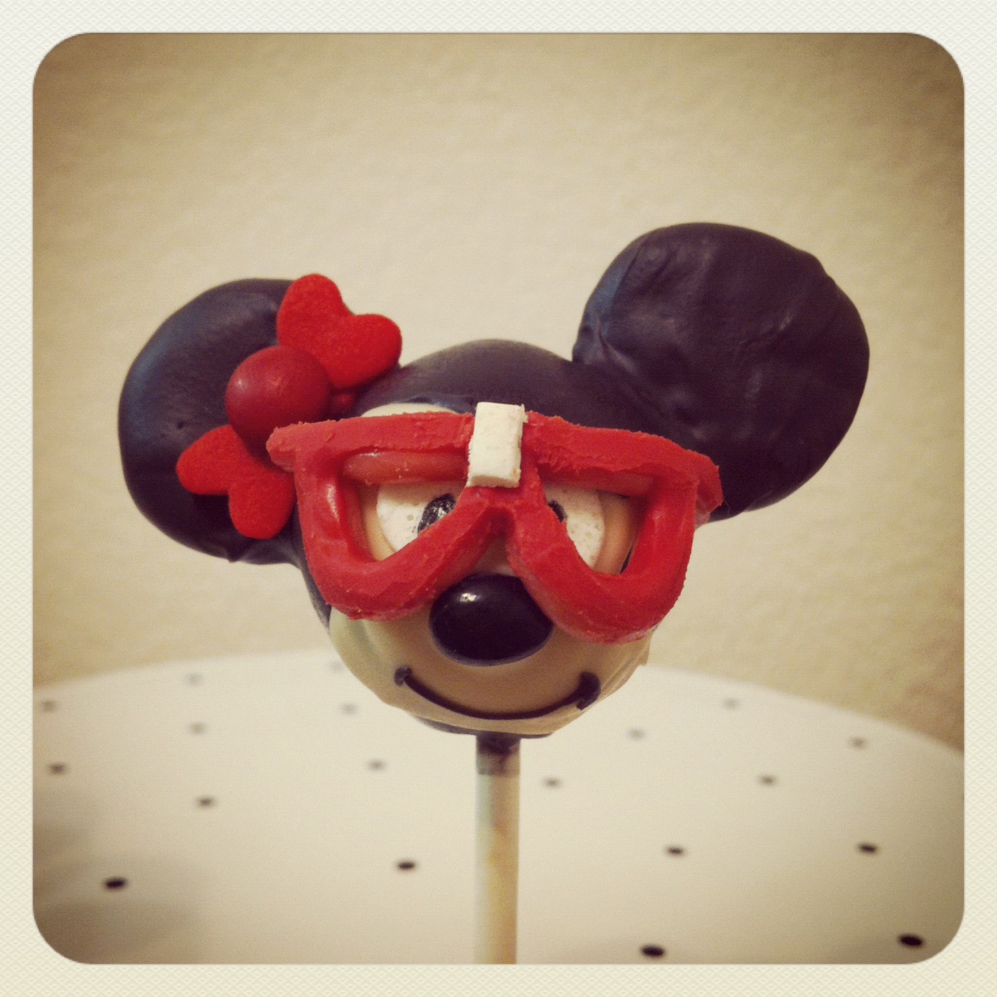Nerdy Minnie Mouse