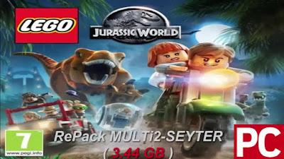 Free Download Game LEGO® Jurassic World Pc Full Version – RePack Version 2015 – MULTi2-SEYTER – DLC Pack – Multi Links – Direct Link – Torrent Link – 3.44 GB – Working 100% .